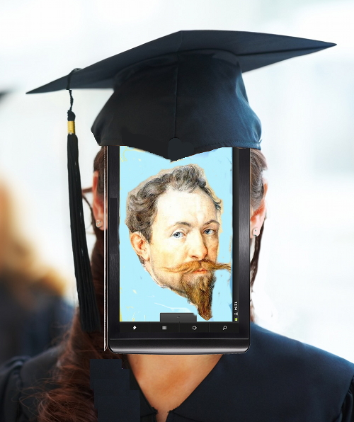 tablet student