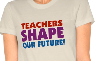 http://www.zazzle.com/teachers_shape_our_future_tshirt-235548220671936366