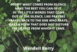 accept silence